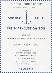 TKG SUMMER PARTY EVITE